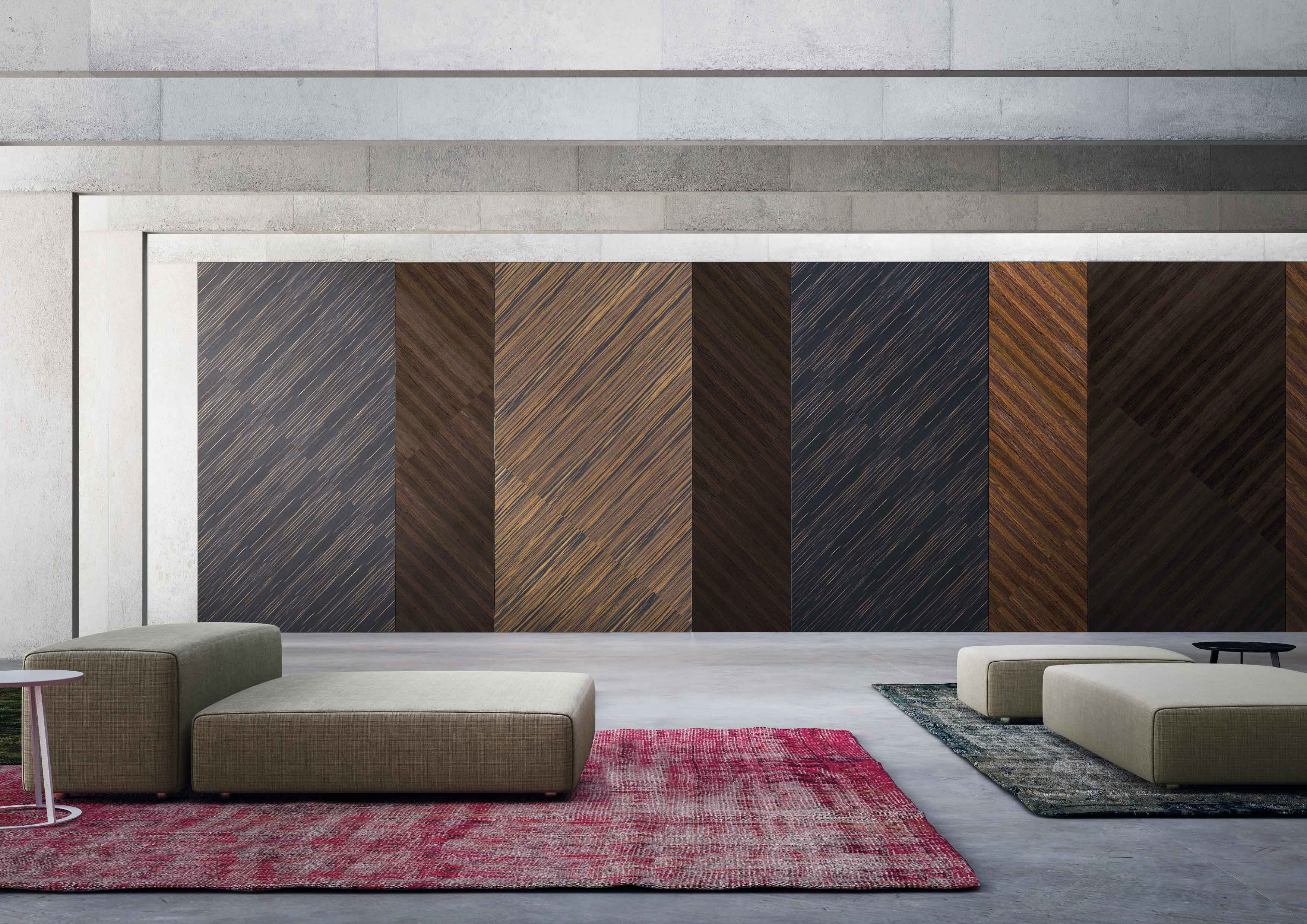 Pivoting wall in a resort in Jakarta, designed by Linvisibile by Portarredo, all with FritsJurgens System 3 pivot hinges